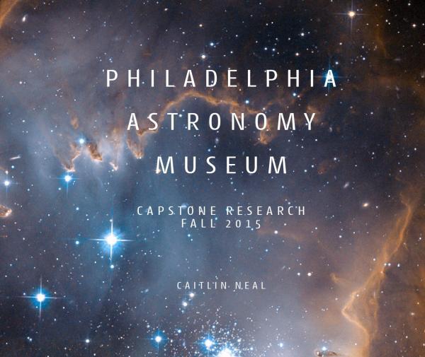 Philadelphia Astronomy Museum Caitlin Neal - Issuu