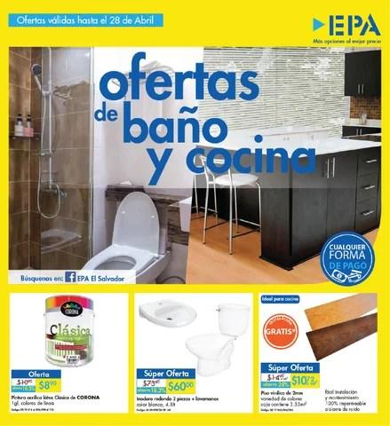 Catalogo epa ofertas para ba os y cocina - Ofertas muebles de bano ...