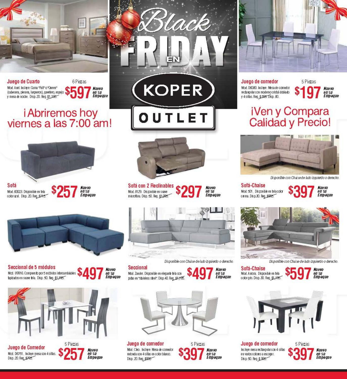 First Outlet Muebles Shopper Outlet By Koper Furniture Issuu