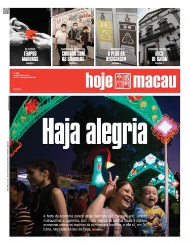 Hoje Macau 9 SETEMBRO 2021 #4850