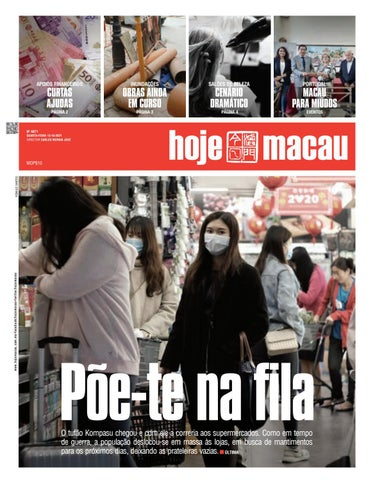 Hoje Macau 13 OUTUBRO 2021 #4870