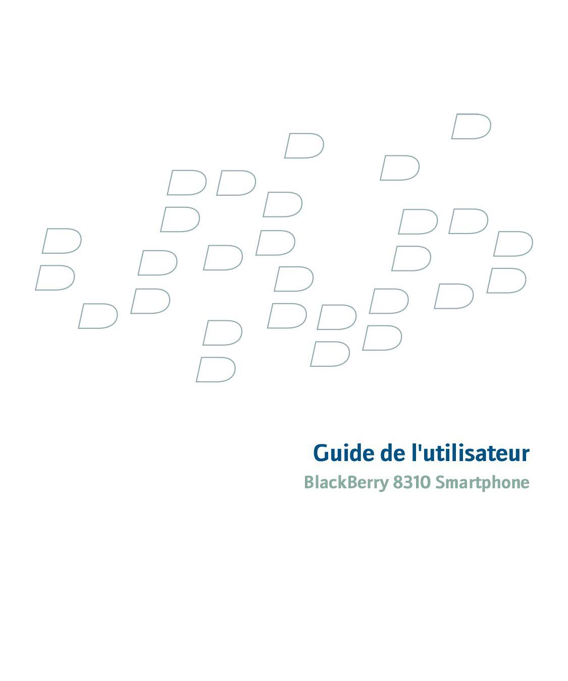 Guide de l'utilisateur Blackberry 8310 by Mattieu Guionnet