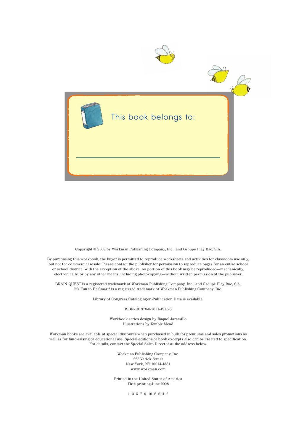 medium resolution of Brain Quest Workbook Grade 2 by Workman Publishing - issuu