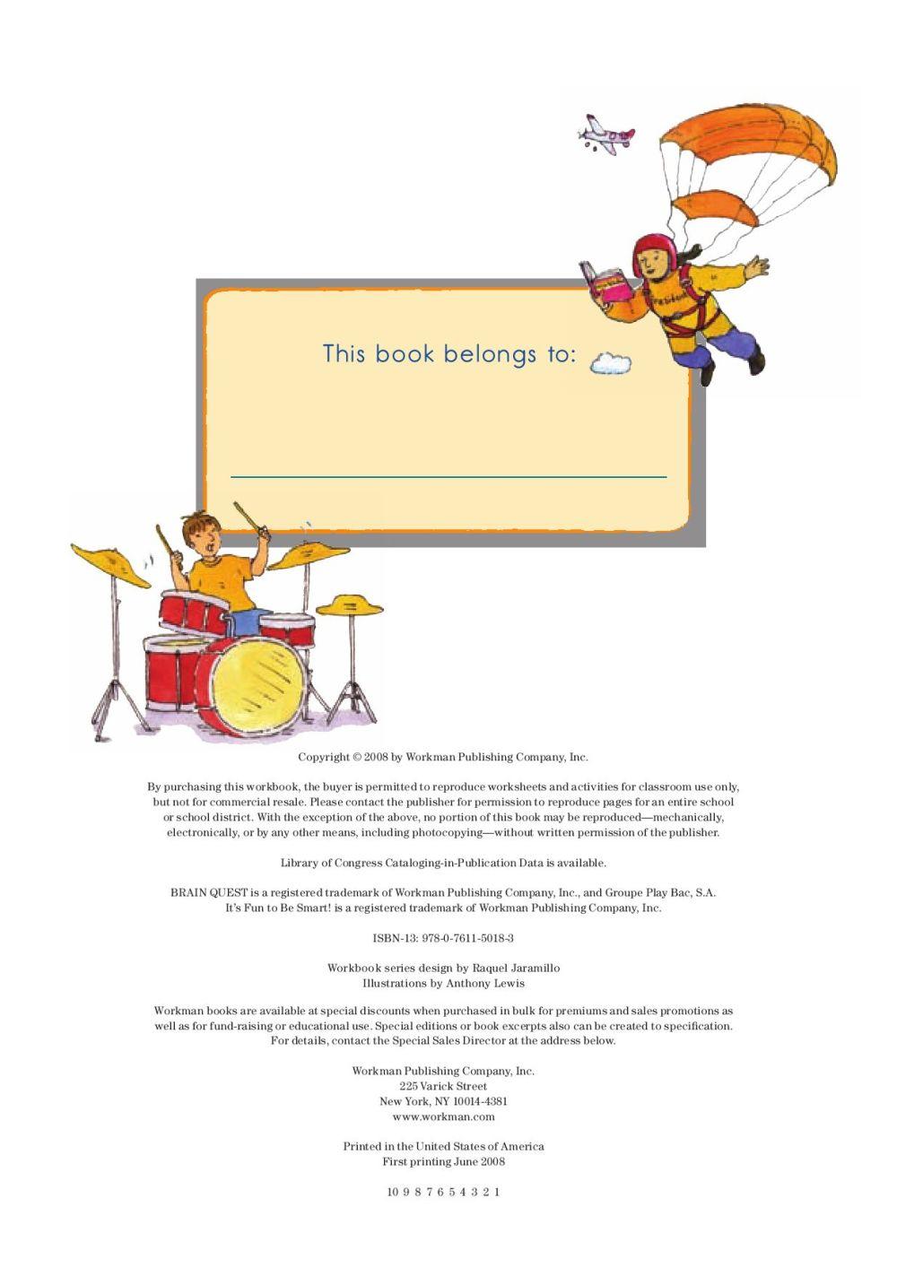 medium resolution of Brain Quest Workbook Grade 4 by Workman Publishing - issuu
