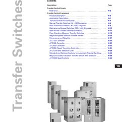 Asco 4000 Wiring Diagram 1 Switch 2 Lights Tab 16 Transfer Switches By Greg Campbell Issuu
