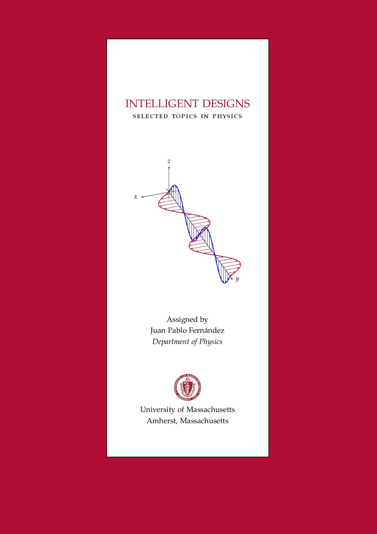 Intelligent Designs Selected Topics In Physics By Juan Fernandez Issuu