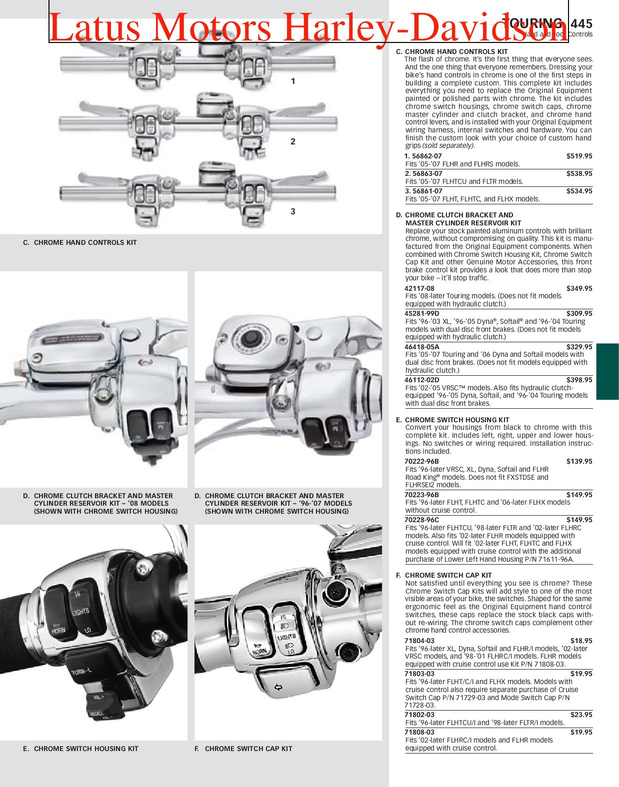 2013 Harley Heated Grips Wiring Diagram Part 2 Harley Davidson Parts And Accessories Catalog By
