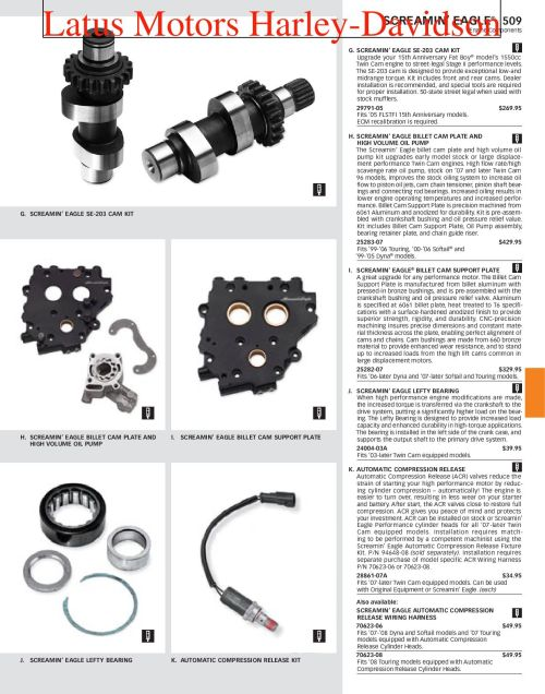 small resolution of harley davidson screamin eagle parts and accessories catalog by harley davidson of portland issuu