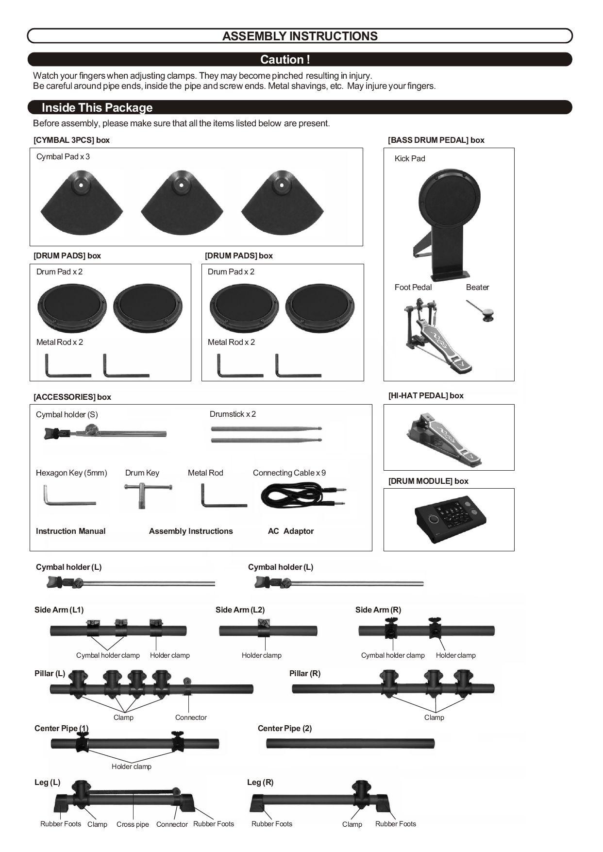 Techtonic DD502(J) Setup Manual by Soar Valley Music Ltd