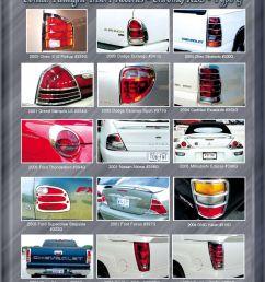 chrome accessories taillight insert [ 1313 x 1688 Pixel ]