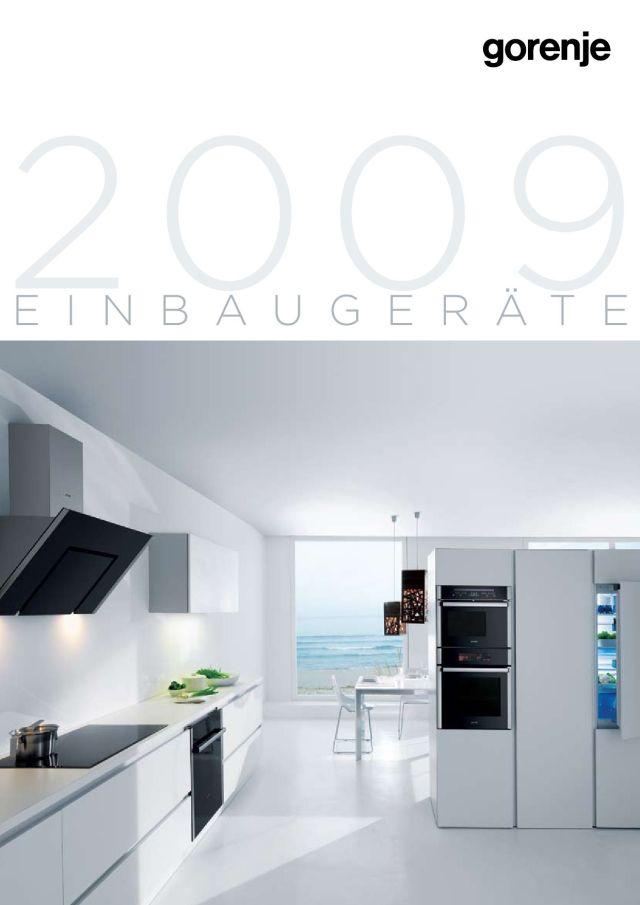 Einbaugeräte 2009 by Gorenje d.o.o. - issuu