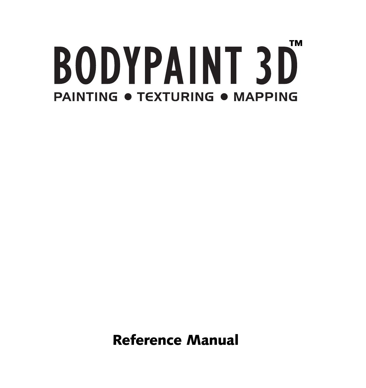 Cinema 4d bodypaint 3d Manual by Bonzo Dog doo dah films
