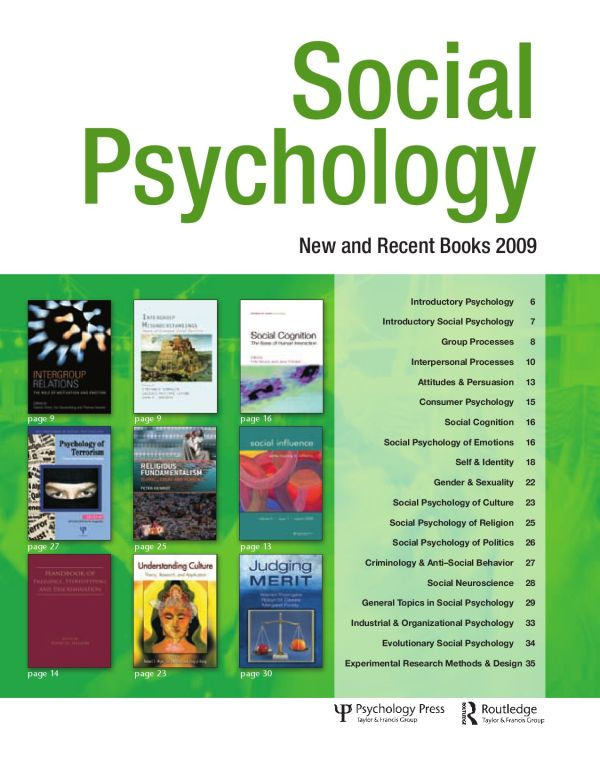 Social Psychology - And Books 2009