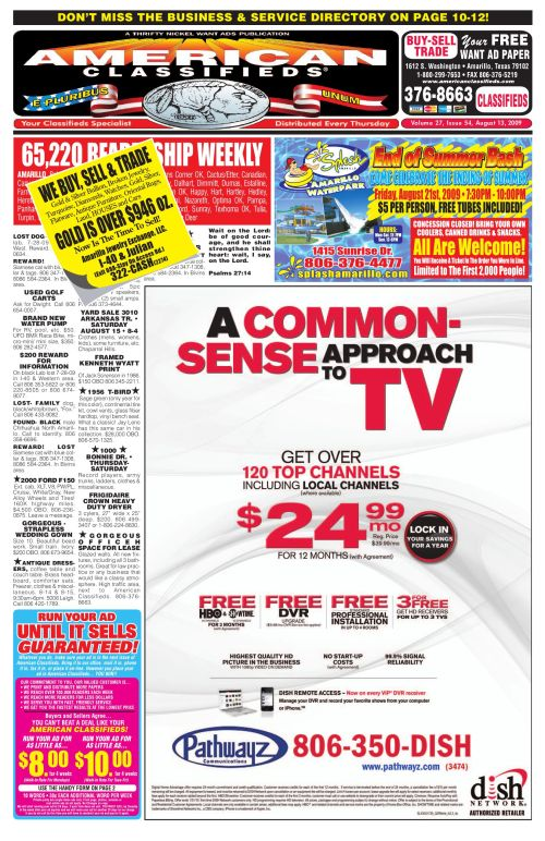 small resolution of american classifieds amarillo tx aug 13 2009 by american classifieds issuu