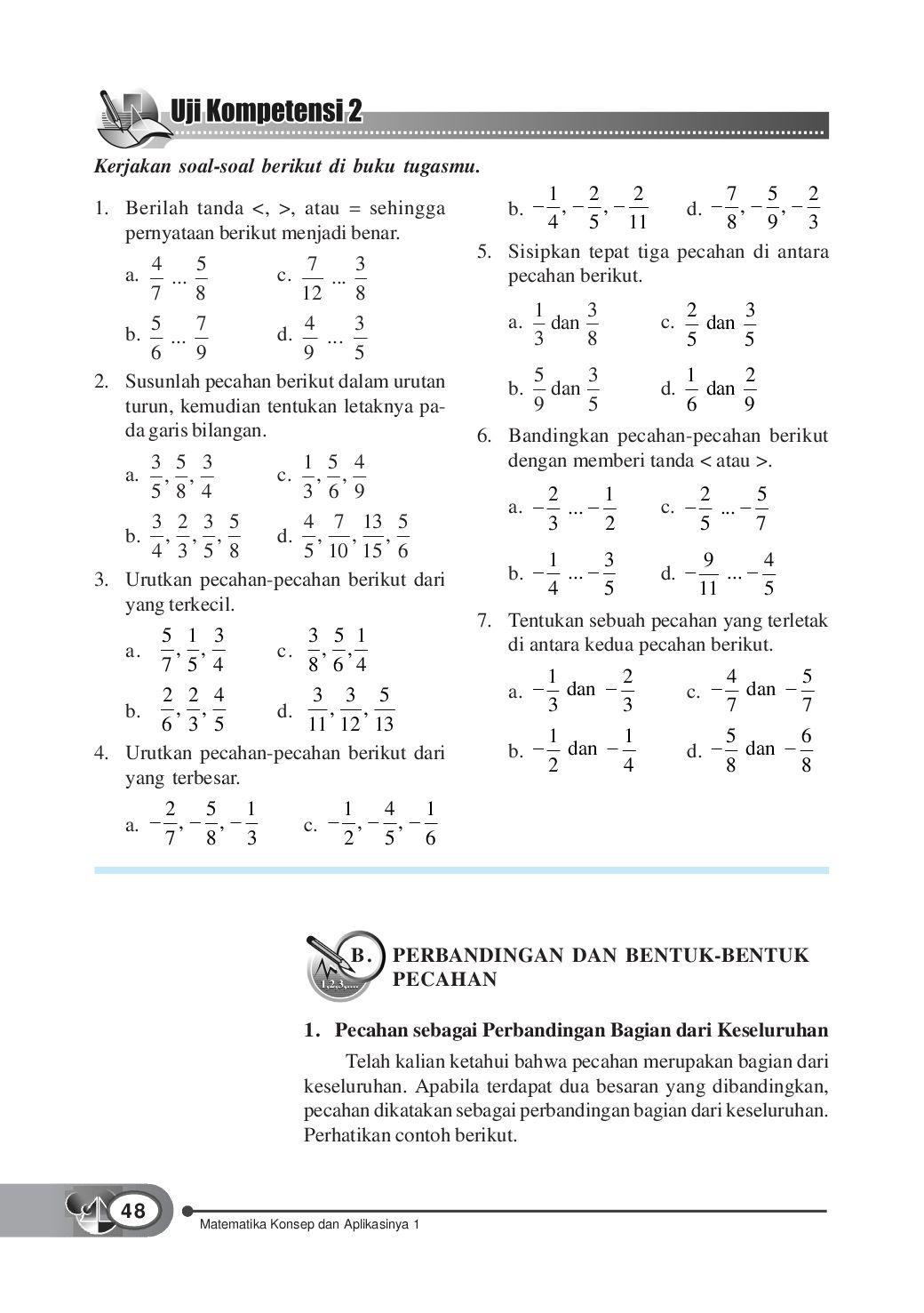 Urutkan Pecahan 0 3 : urutkan, pecahan, Kelas01_matematika-konsep-dan-aplikasinya_dewi-tri, Selagan, Issuu