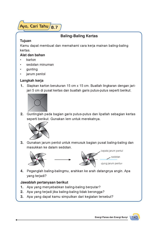 Cara Membuat Baling Baling Dari Kertas Karton : membuat, baling, kertas, karton, Kelas04_senang-belajar-ipa_siti, Selagan, Issuu