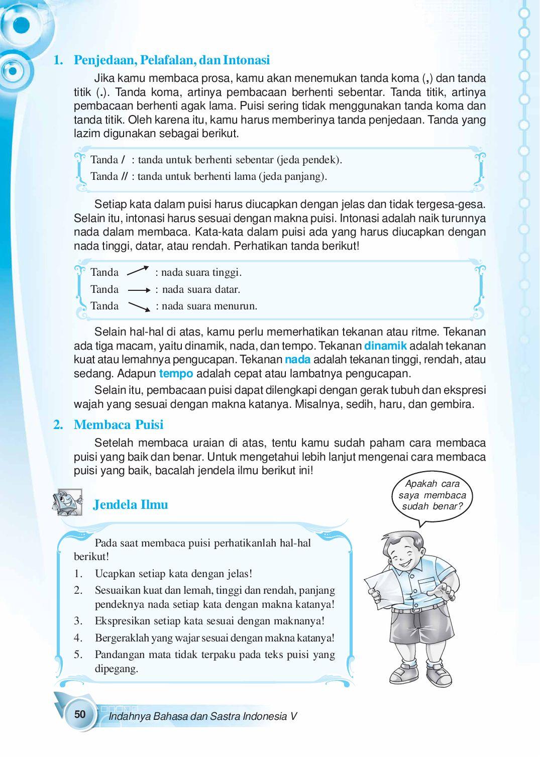 Intonasi Adalah : intonasi, adalah, Kelas05_indahnya-bahasa-dan-sastra-indonesia_suyatno-ekarini-wibowo, Selagan, Issuu