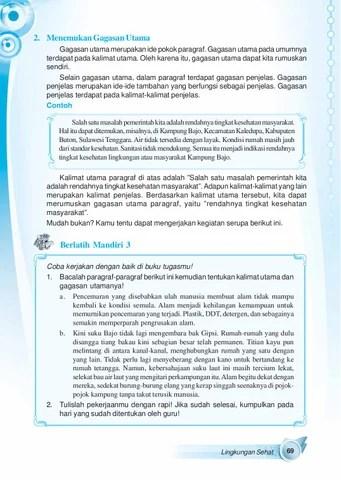 Contoh Kalimat Gagasan : contoh, kalimat, gagasan, Kelas05_indahnya-bahasa-dan-sastra-indonesia_suyatno-ekarini-wibowo, Selagan, Issuu