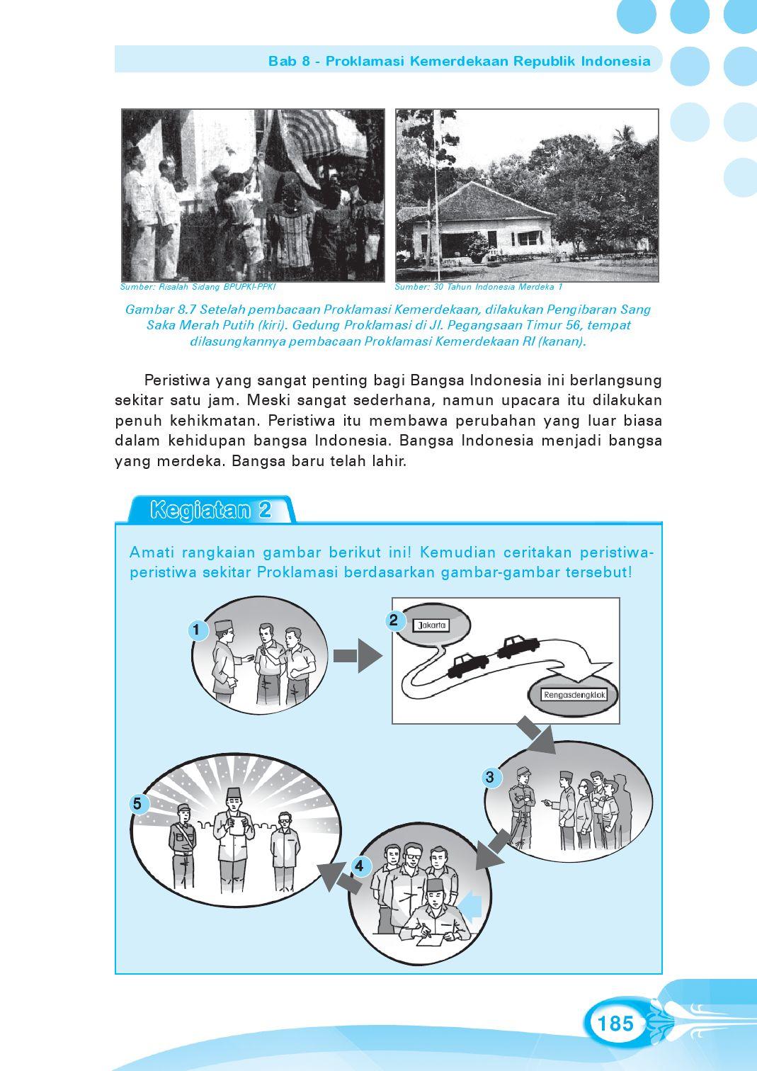 Pengibaran Sang Saka Merah Putih Setelah Pembacaan Proklamasi Kemerdekaan Indonesia Dilakukan Oleh : pengibaran, merah, putih, setelah, pembacaan, proklamasi, kemerdekaan, indonesia, dilakukan, Kelas05_ips_endang-linda, Selagan, Issuu