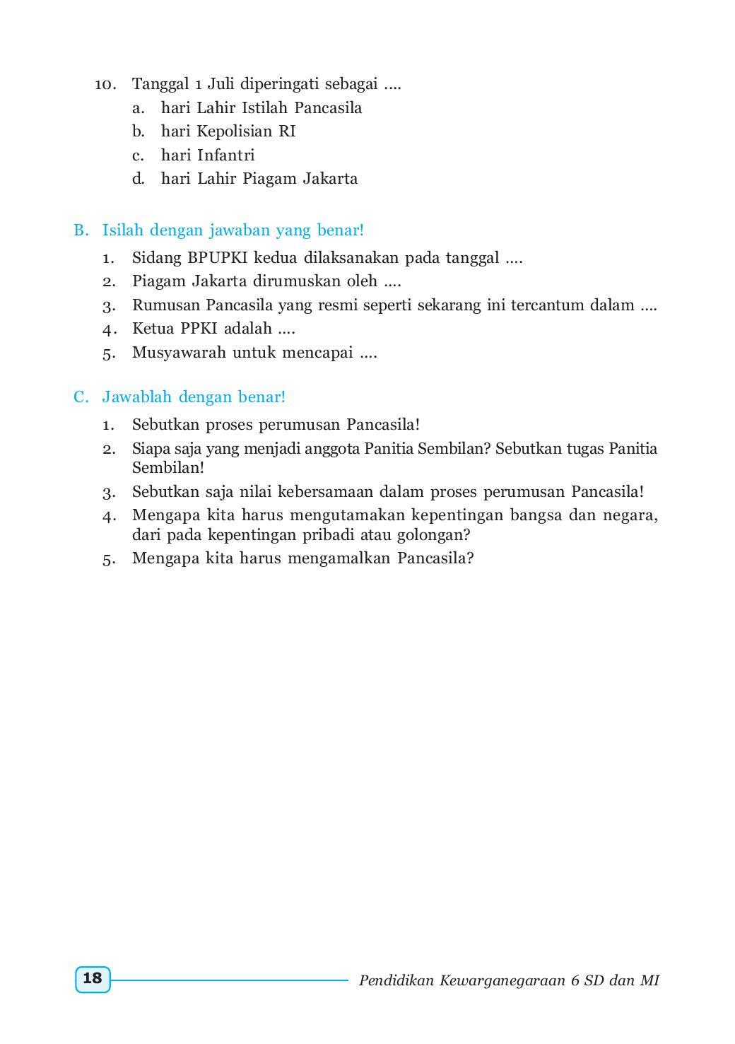 Sebutkan Isi Piagam Jakarta : sebutkan, piagam, jakarta, Piagam, Jakarta, Dirumuskan
