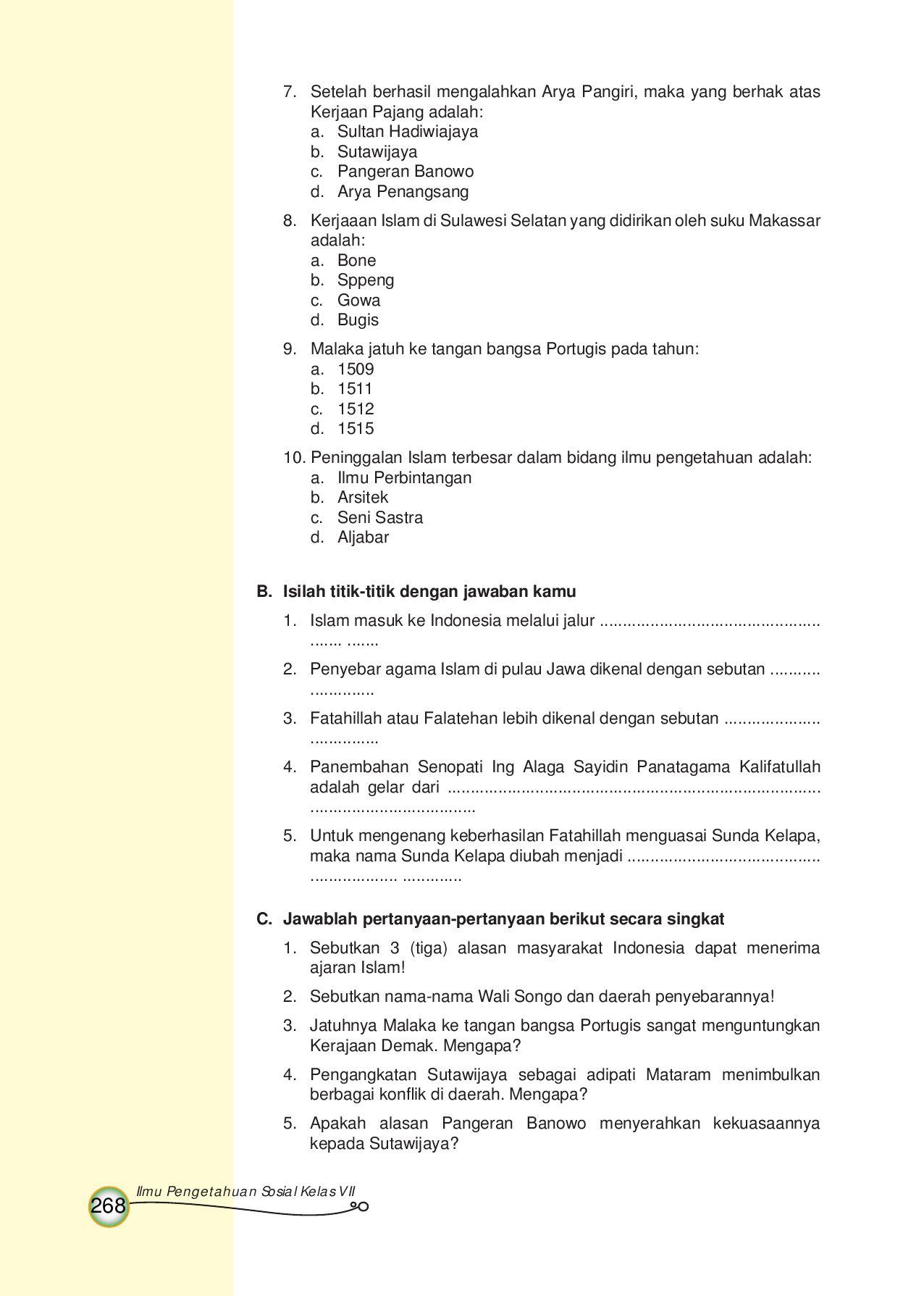 Sebutkan Penyebar Islam Di Pulau Jawa Yang Di Kenal Dengan Walisongo! : sebutkan, penyebar, islam, pulau, kenal, dengan, walisongo!, Kelas07_ctl-ips_sugiharsono-wayan-teguh-enoh-muhammad, Selagan, Issuu