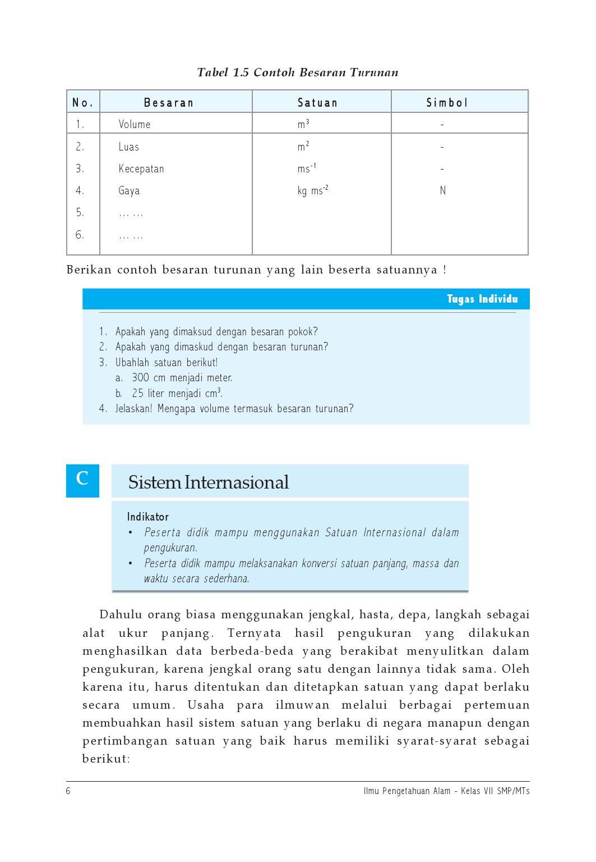 Bagaimana Syarat Syarat Satuan Internasional : bagaimana, syarat, satuan, internasional, Kelas07_ipa_teguh-eny, Selagan, Issuu