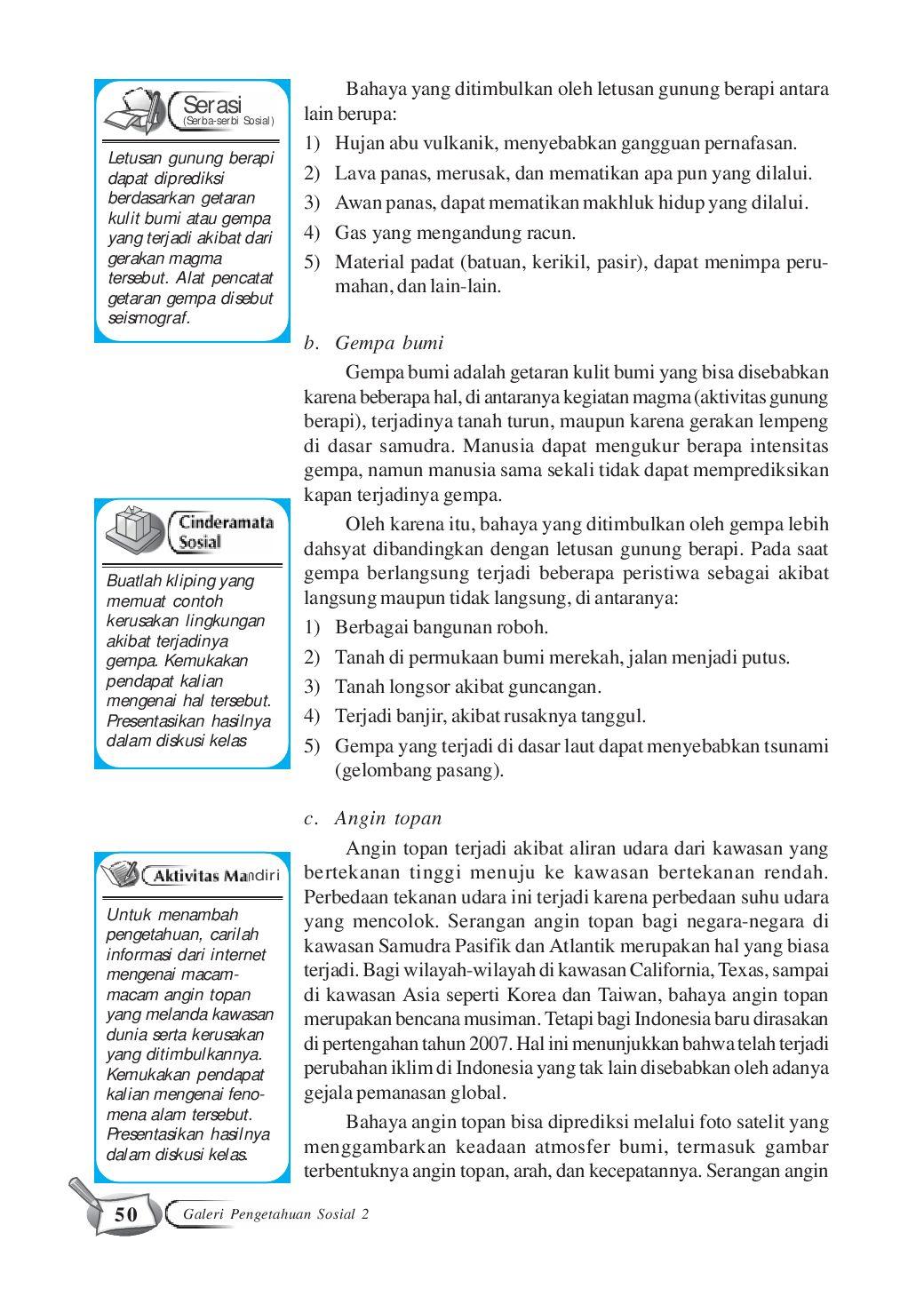 Alat Pencatat Getaran Gempa : pencatat, getaran, gempa, Kelas08_galeri-pengetahuan-sosial-terpadu_sri-waluyo, Selagan, Issuu