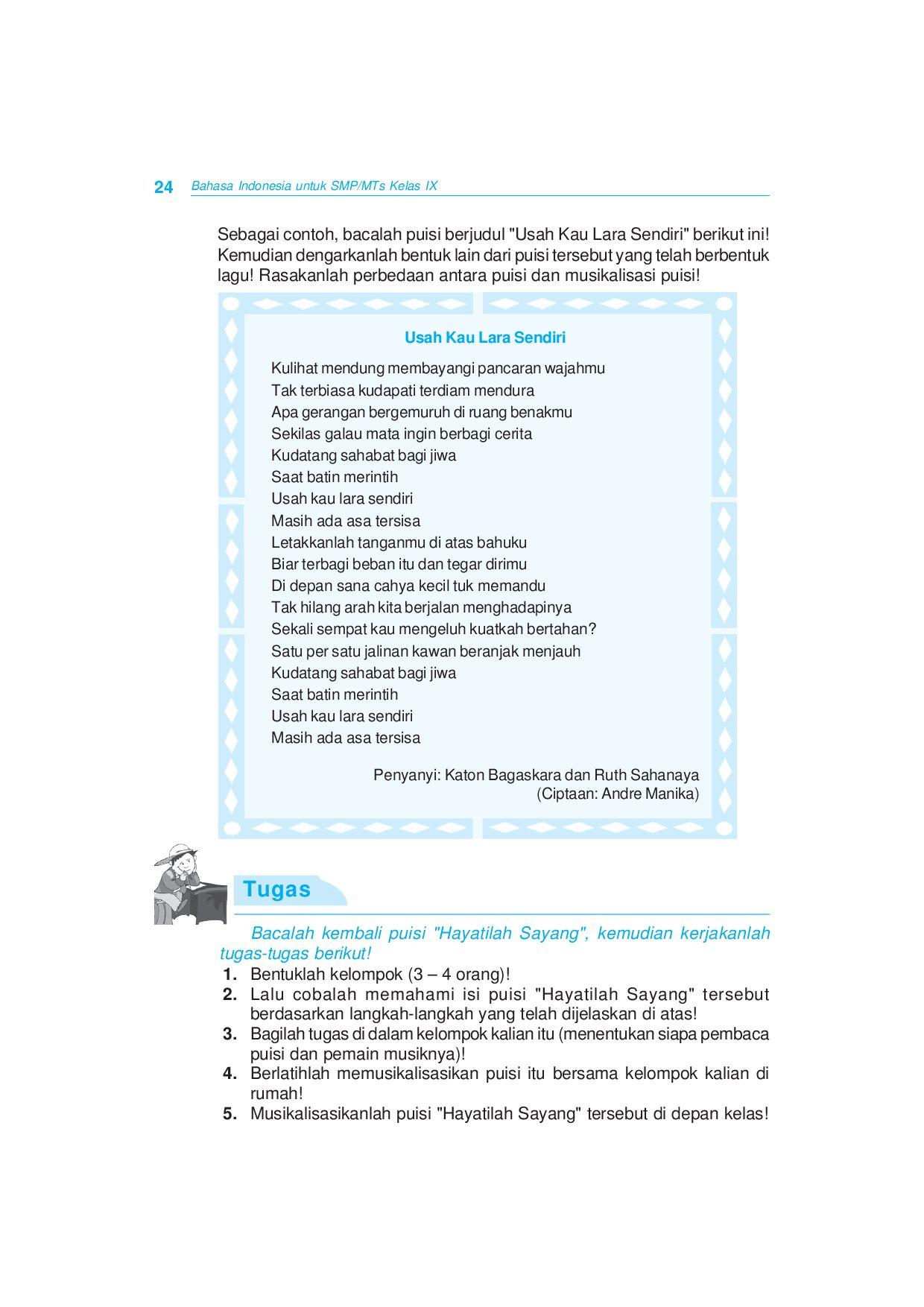 Langkah Langkah Musikalisasi Puisi : langkah, musikalisasi, puisi, Kelas09_bahasa-indonesia_atikah-yuwono-suhartanto, Selagan, Issuu