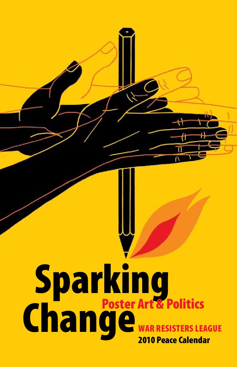 sparking change poster art
