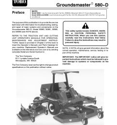 90743sl pdf groundsmaster 580 d rev g dec 2007 by negimachi negimachi issuu [ 1275 x 1650 Pixel ]