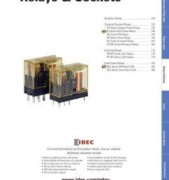 idec ry4 relay wiring diagram [ 1275 x 1650 Pixel ]