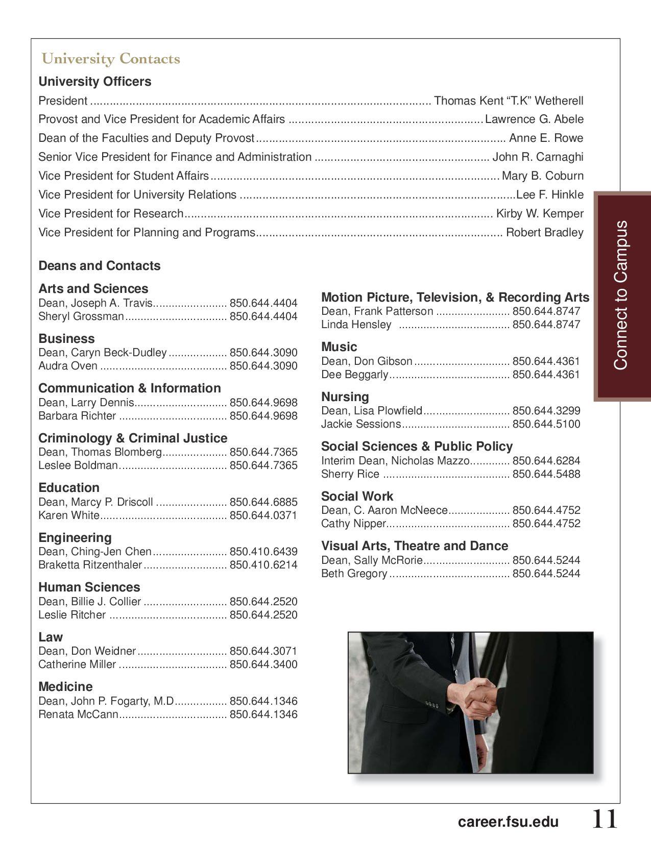 Florida State University Employer Handbook by Florida