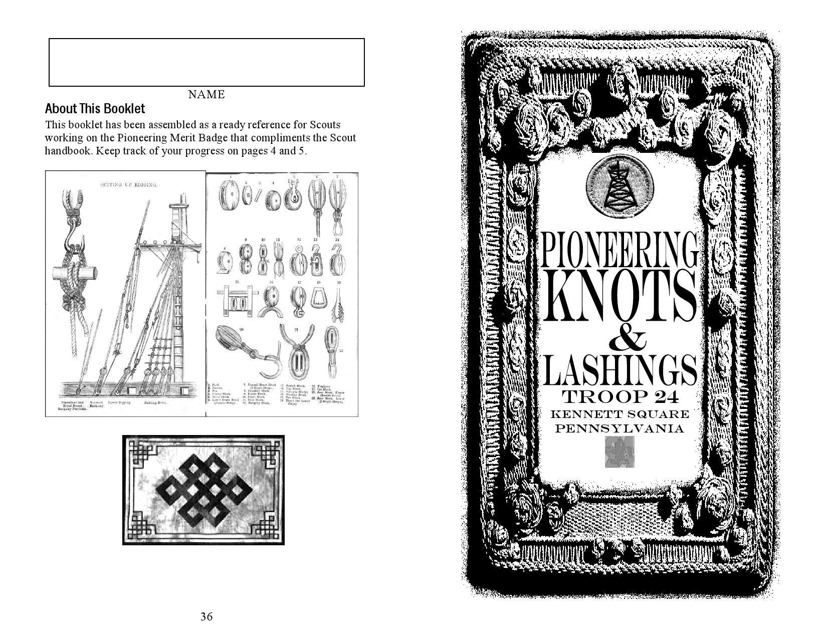 pioneeringbook by Scout Library Kraal Fuego (WFIS-Spain