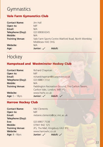 Westminster Mall Directory : westminster, directory, Sports, Directory, Brent, Council, Issuu