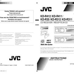 Jvc Kd R200 Wiring Diagram 5 Wire Flat Trailer R311 26 Images