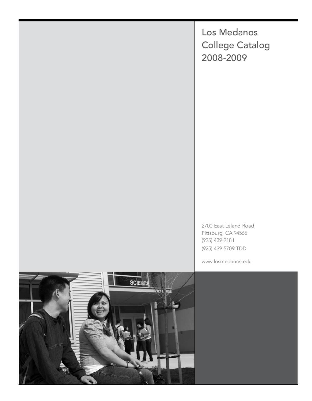 hight resolution of Los Medanos College Catalog 2008-2009 by Los Medanos College - issuu