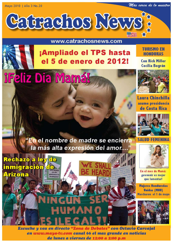 Catrachos News May 2010 by Erika Rojas  Issuu