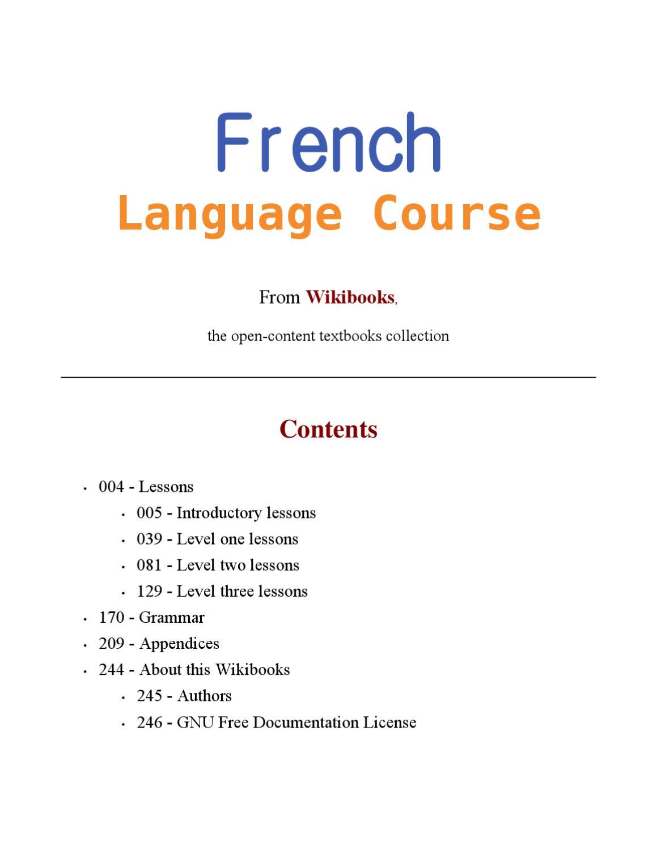 Comment On Dit Je T Aime En Japonais : comment, japonais, Wikibooks, French, Language, Course, Issuu