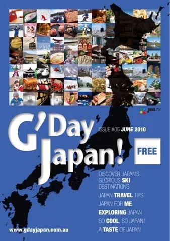 Gday Japan 2010 By Jams Tv Issuu