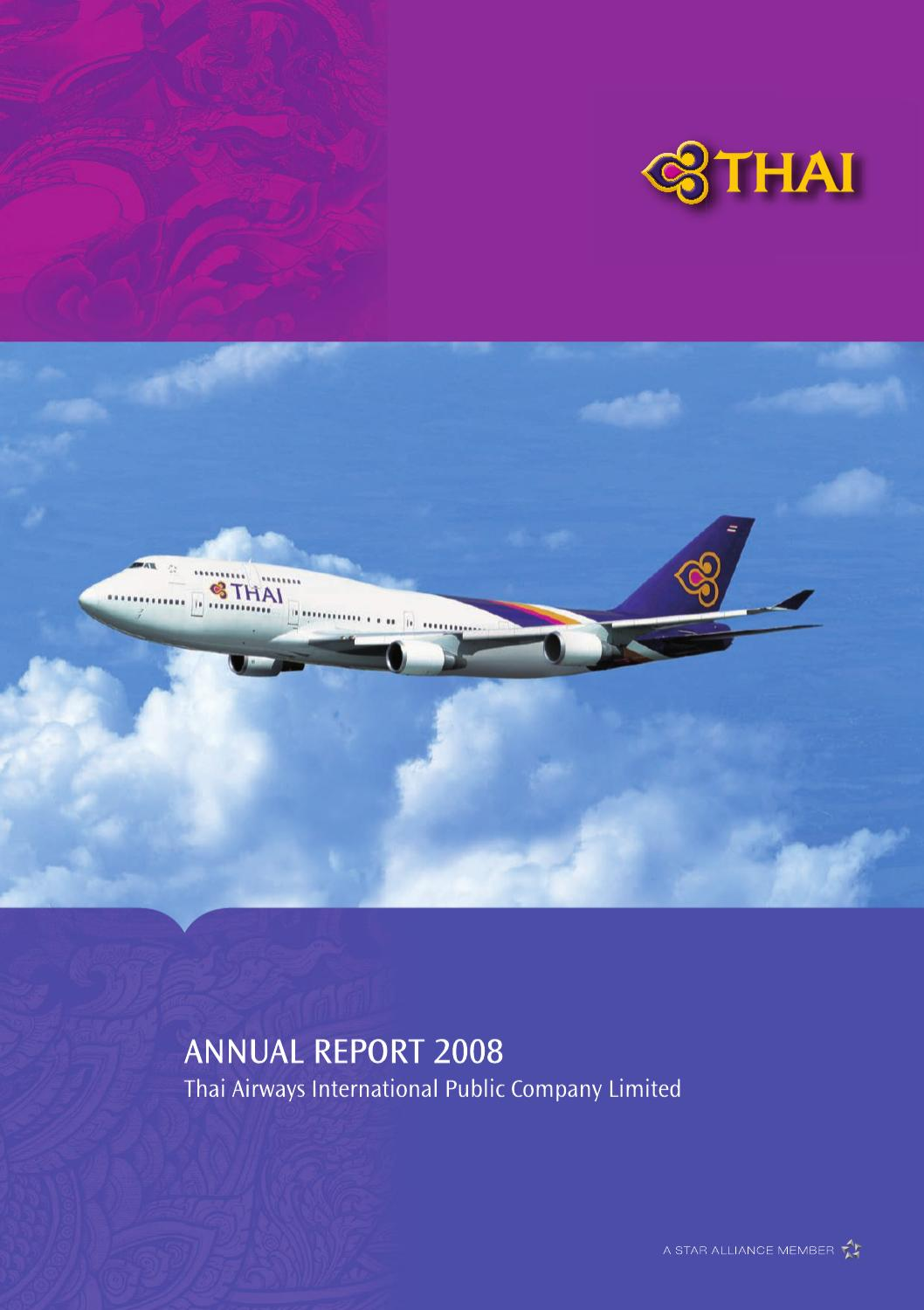 THAI  Annual Report 2008 by SI Support  Issuu