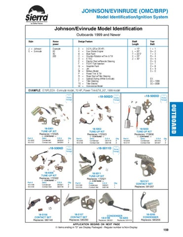Hp Wiring Diagram Sierra Marine Engine And Drive Parts For Johnson Evinrude