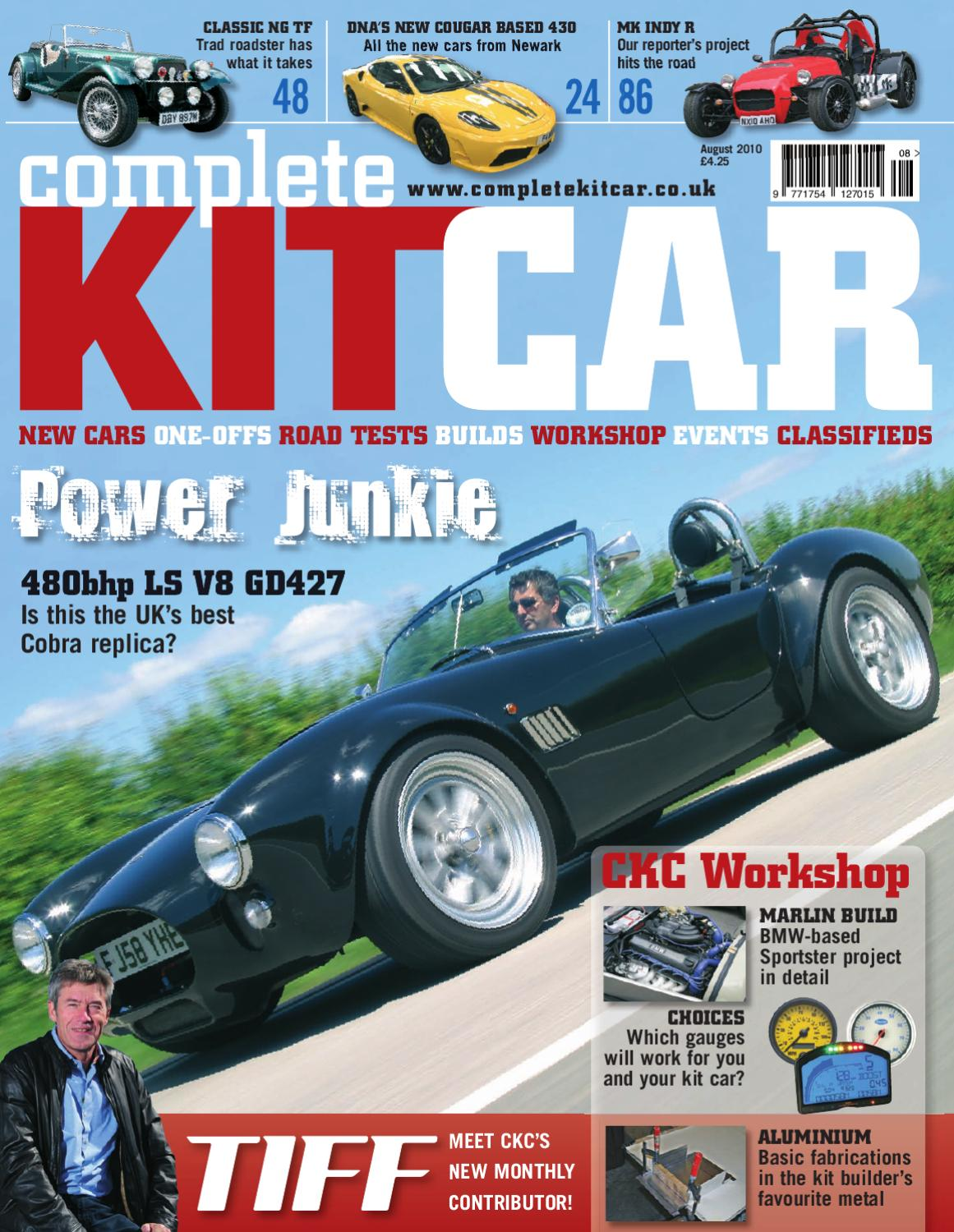 hight resolution of complete kit car magazine august 2010 preview by performance publishing ltd issuu