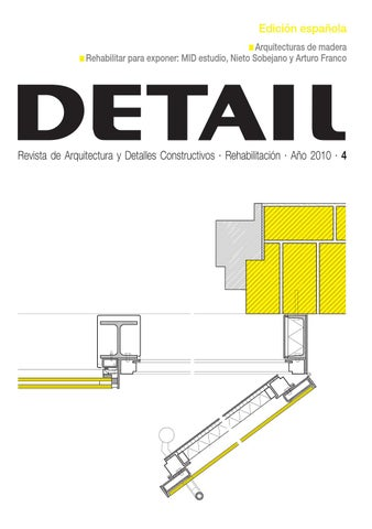 DETAIL Rehabilitacin 2010 by Arte Cemento  Issuu