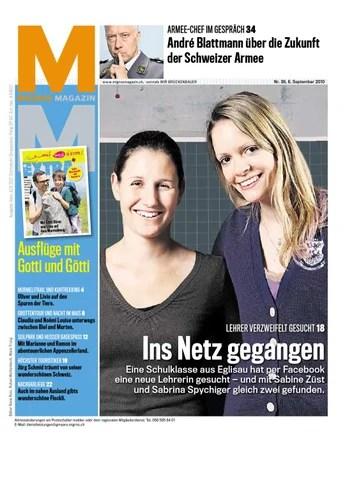 Migros Magazin 36 2010 d BL by MigrosGenossenschaftsBund