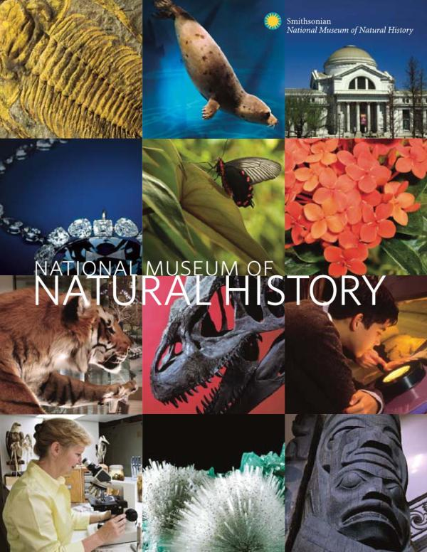 National Museum Of Natural History Brochure