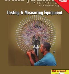 testing measuring equipment by wire journal international inc issuu [ 1120 x 1500 Pixel ]