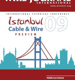 istanbul cable wire 2009 preview by wire journal international inc issuu [ 1120 x 1500 Pixel ]