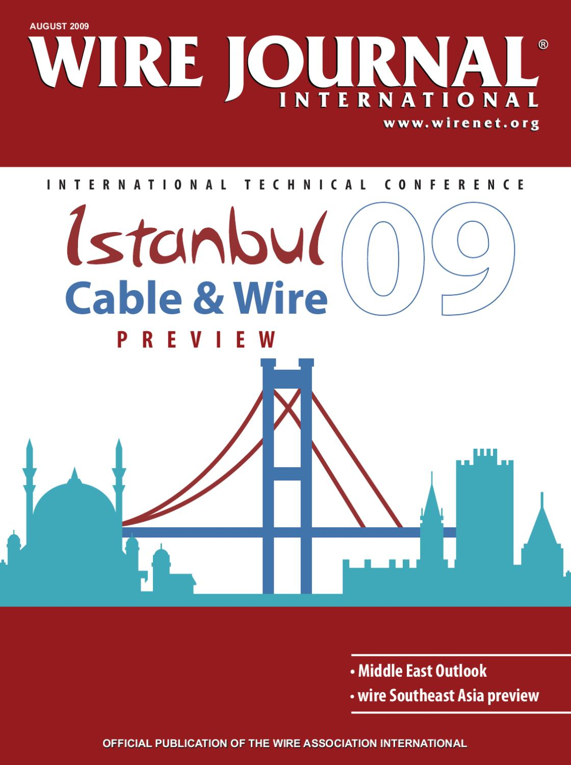 hight resolution of istanbul cable wire 2009 preview by wire journal international inc issuu