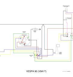 vespa vo wiring diagram [ 1500 x 1159 Pixel ]