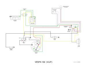 Vespa VL wiring diagram by et3px et3px  Issuu